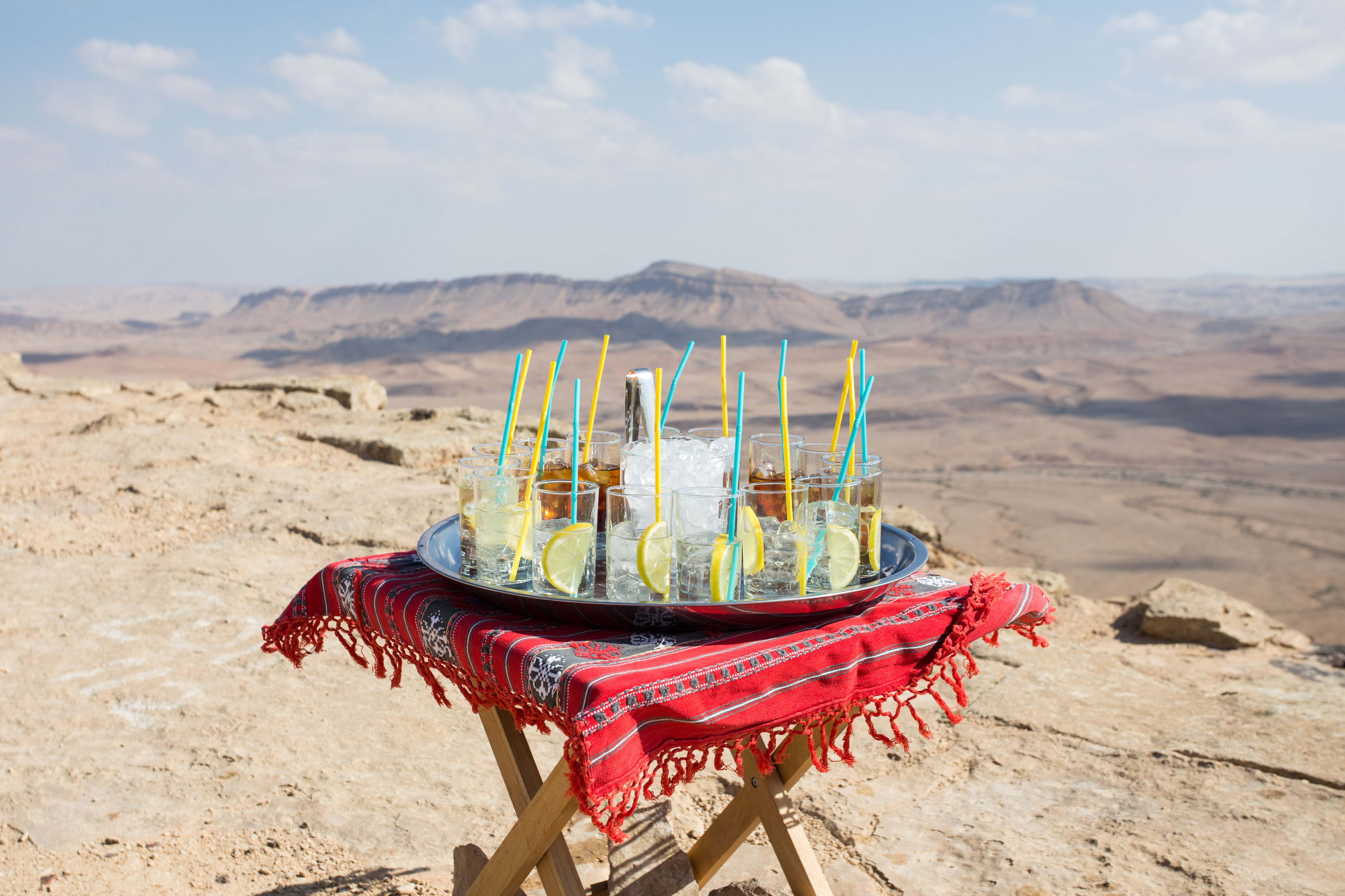 VIP events in the Israeli desert