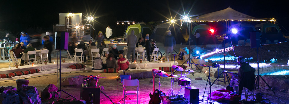 Desert events in Israel