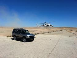 Desert helicopter israel