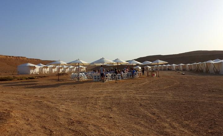 Desert lunch in Israeljpg