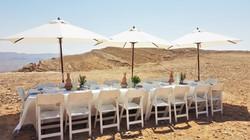 desert outdoor lunch mitzpe ramon