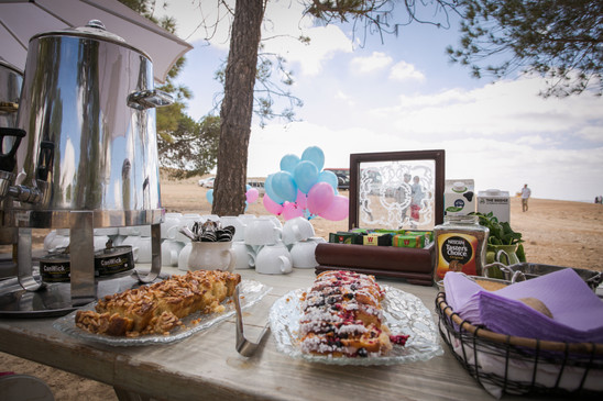 Bat Mitzvah Brunch on the rim of the Ramon Crater
