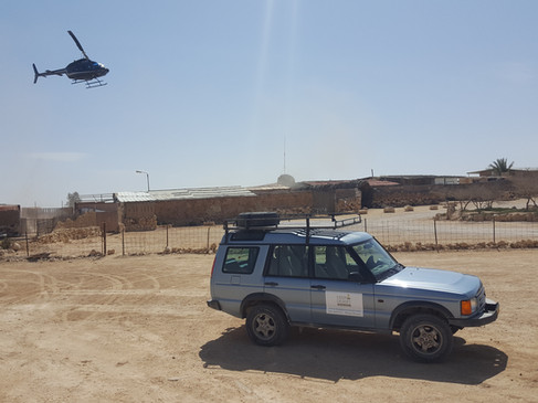 Our jeep & helicopter combo tours in Mitzpe Ramon