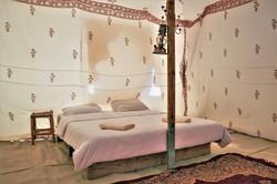 Luxury tents in Israel desert