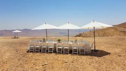 lunch in the desert mitzpe ramon
