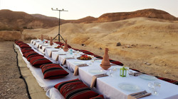 festive meals in the ramon crater