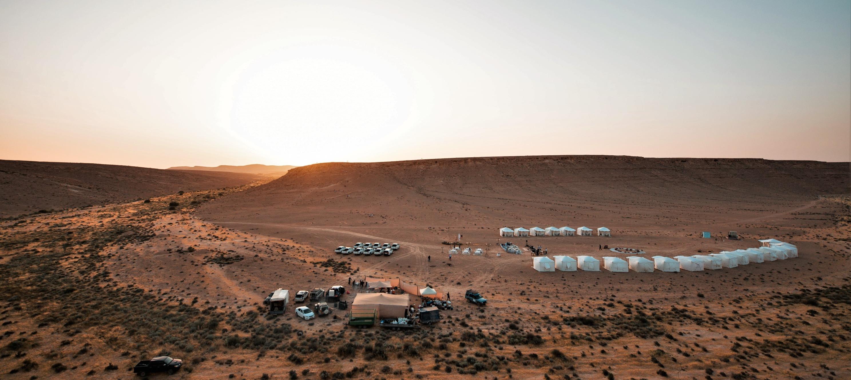 Glamping in the Israeli Desert