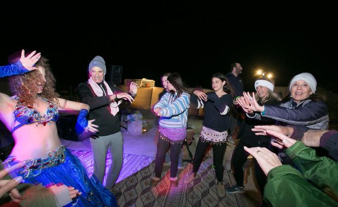 Desert party in the Ramon CraterIsrael