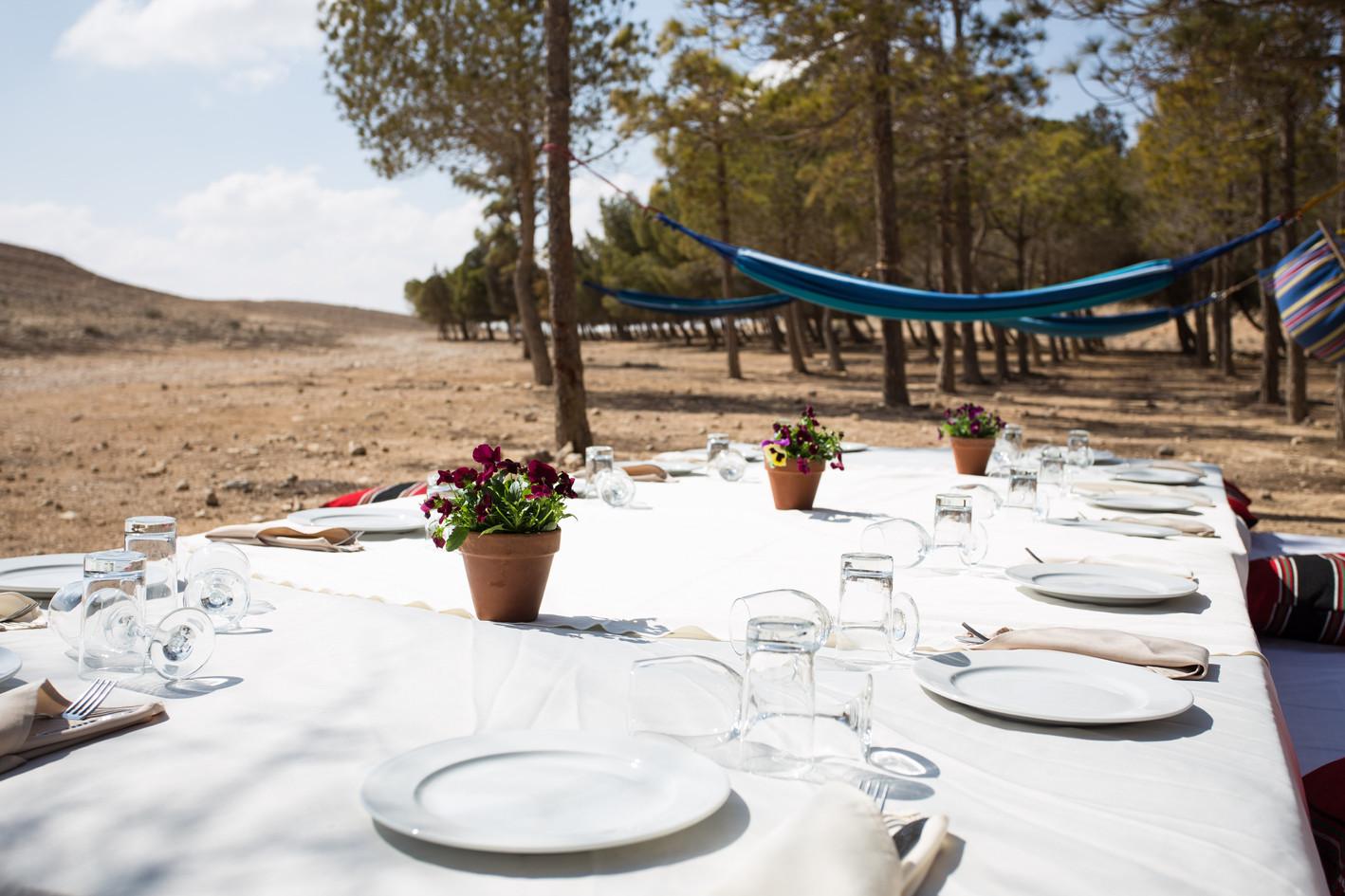 Unique lunch in Mitzpe Ramon