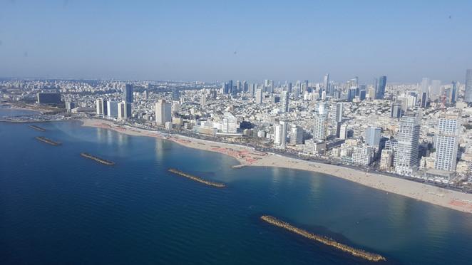 Helicopter flights in Israel from Tel Aviv
