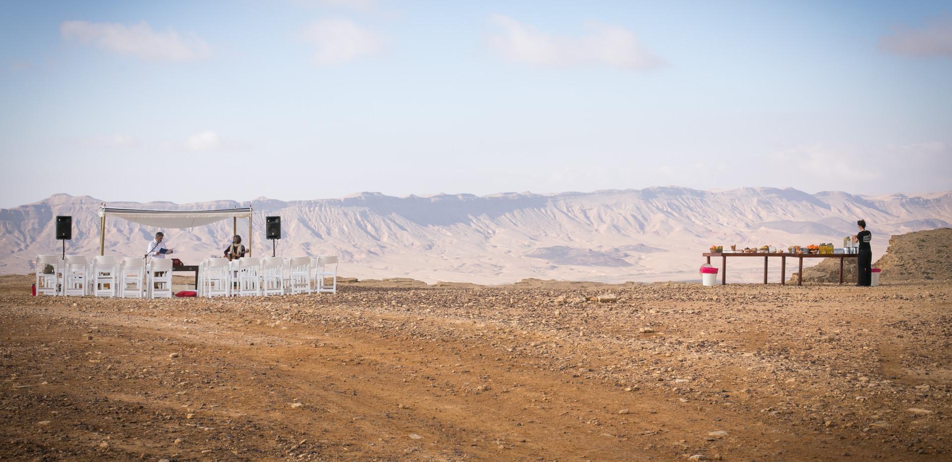 Israel Bat Mitzvah Ceremony in Mitzpe  Ramon