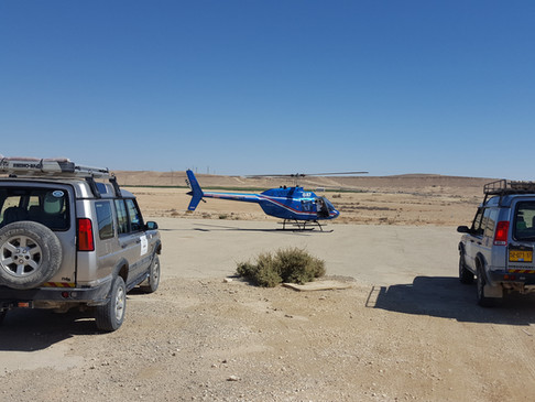 Israel Helicopter flights & jeep tour combo in the Israeli desert