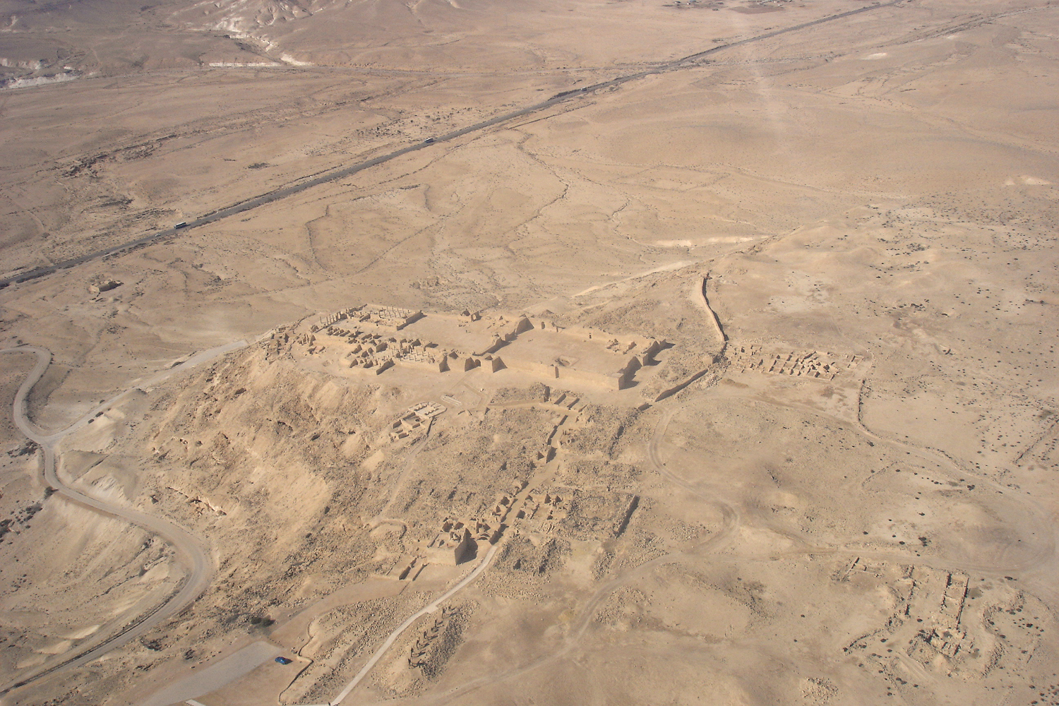 Helicopter desert touring in Israel