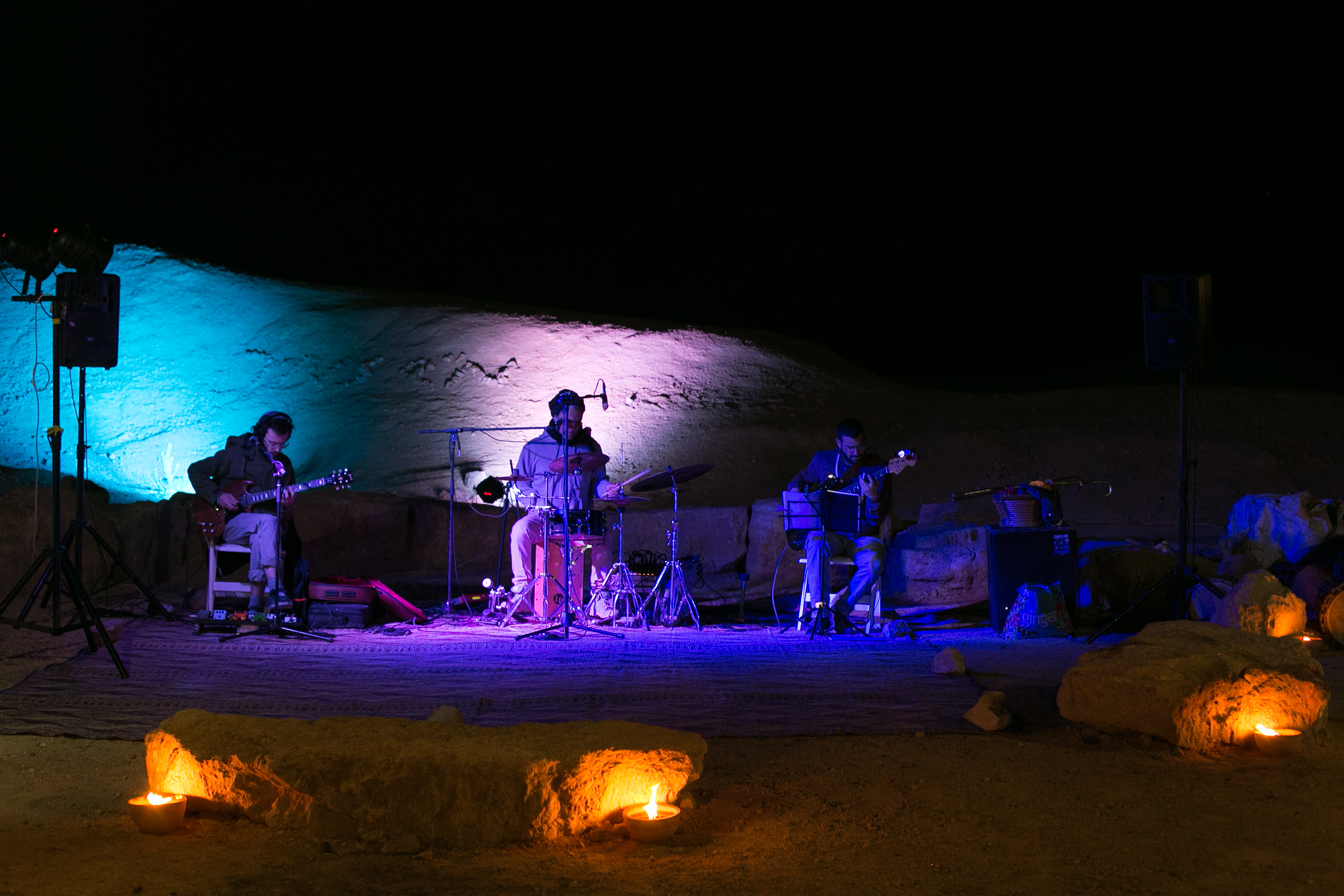 Desert party in Mitzpe Ramon