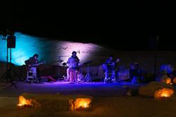Desert party in Mitzpe Ramon