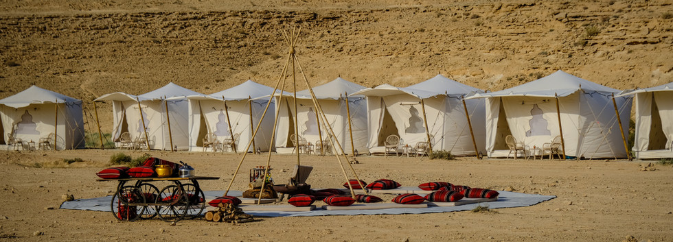 Glamour tents in the Israeli desert.jpg
