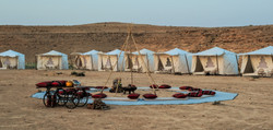 Desert Luxury tents in Israel