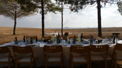 Desert lunch in Mitzpe Ramon