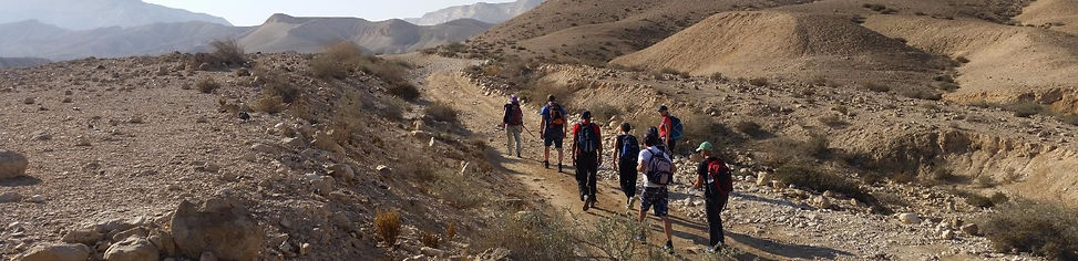 Desert expeditions in Israel