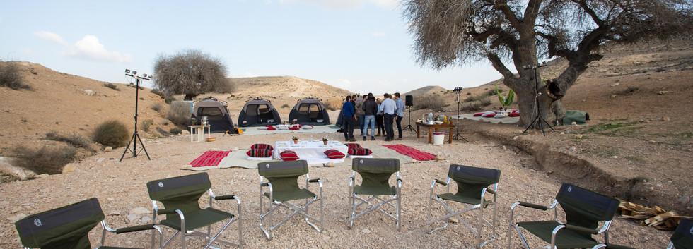 Camping VIP style in the desert.jpg