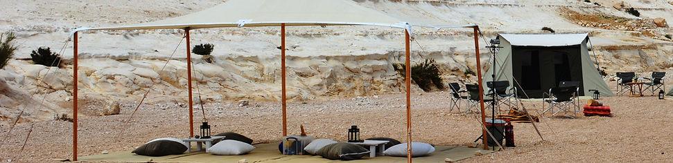 Deluxe Romantic desert glamping in Israel