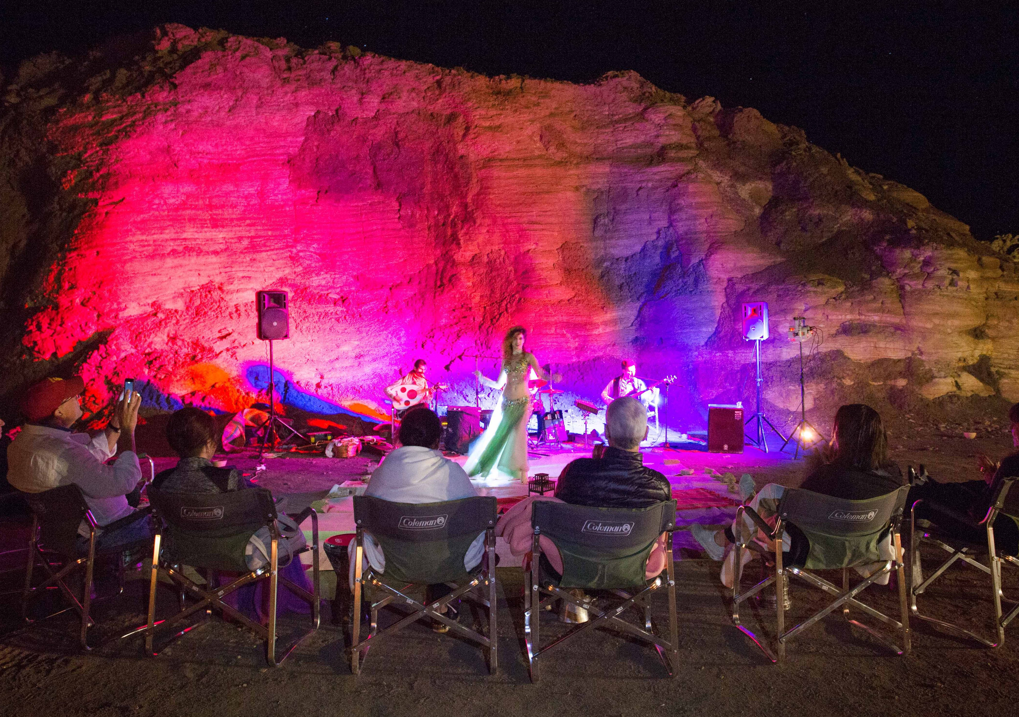 israel desert party