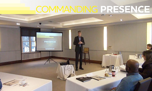 Commanding Presence Communication & Presentation Skills Trainig for Executives & Leaders