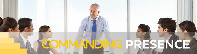 Commanding Presence Communication & Presentation Skills Training for Executives & Leaders