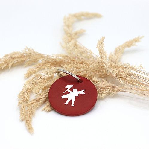 Porte clés du Touquet rouge