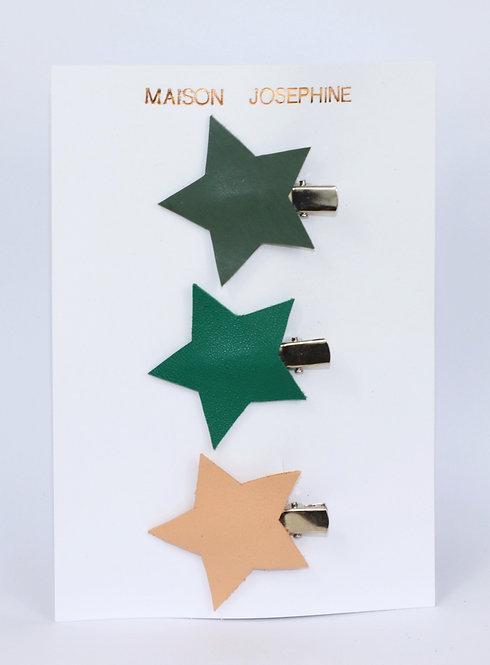 Barrettes étoile