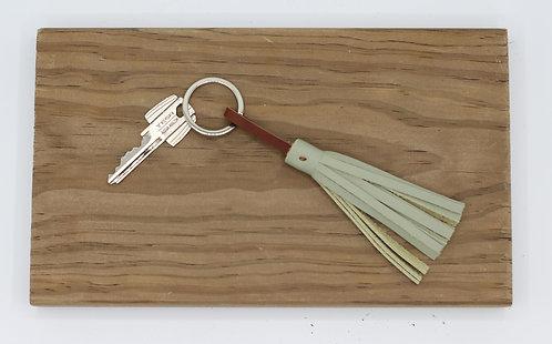 Porte clés vert d'eau