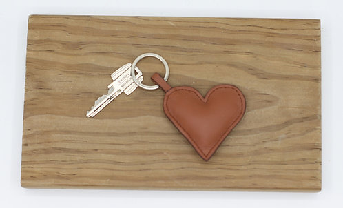 Porte clés ♥️ marron
