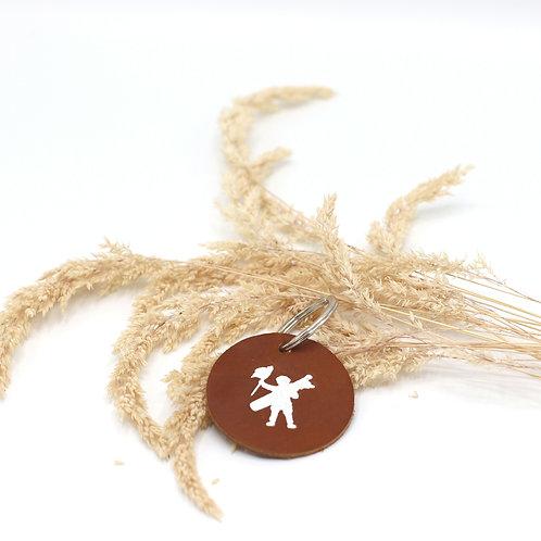 Porte clés du Touquet marron