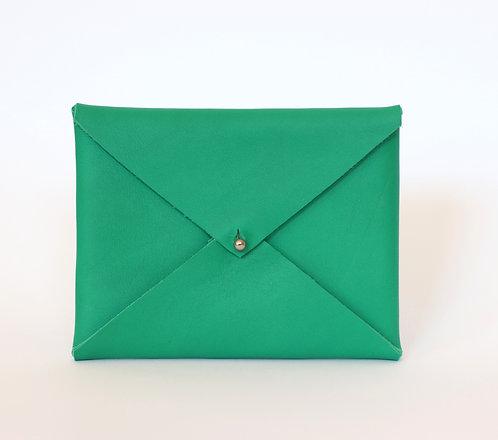 Étui passeport vert