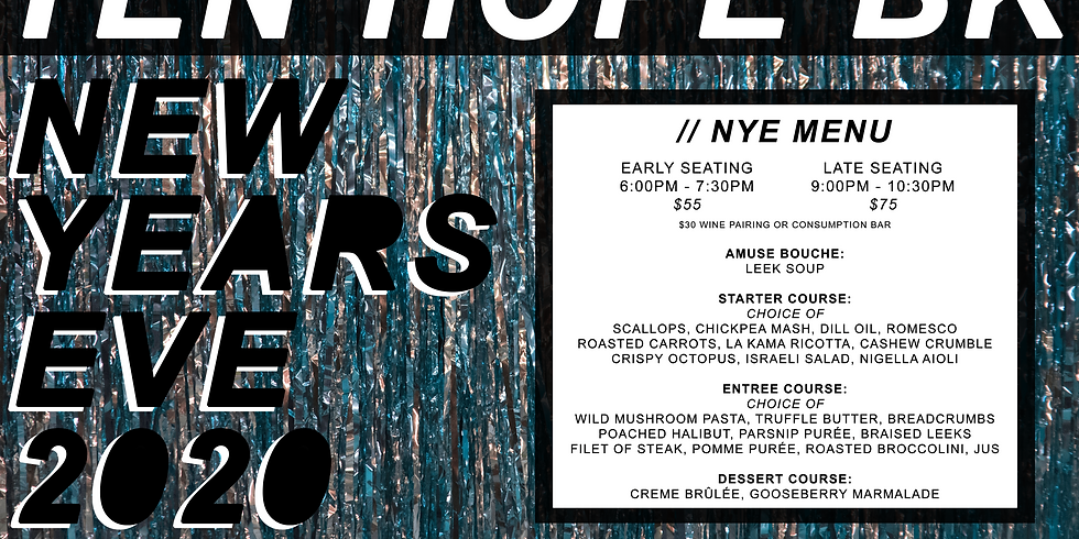 New Years Eve at Ten Hope
