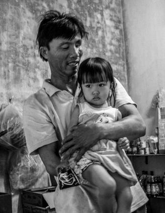 Blind Father & Daughter