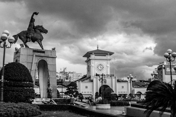 Cho Ben Thanh Corner, Saigon