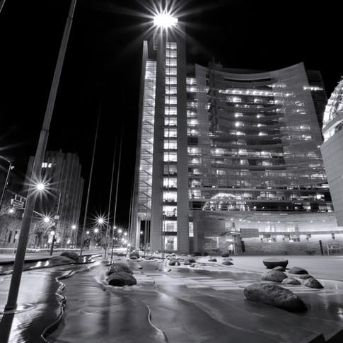 San Jose City Hall Night