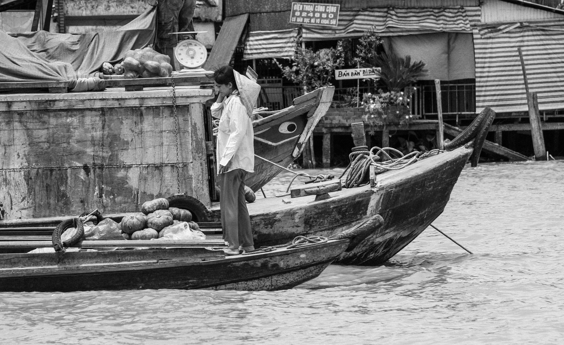 Seller On The Boat
