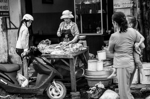 Meat Seller.