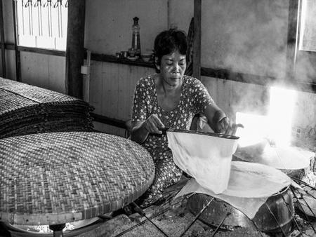 Rice Cake Woman