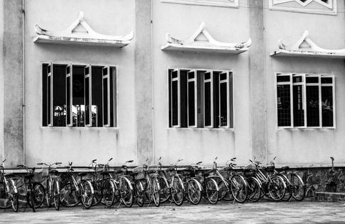 Bicycle, Cathedral Phuoc An