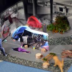 Diorama of Homelessness