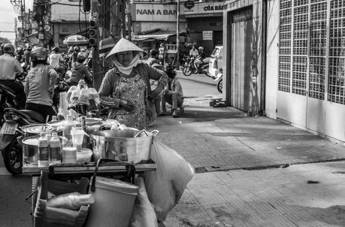 Street Sweet Vendor