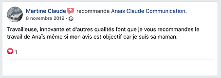 recommandations Facebook ski club Saint
