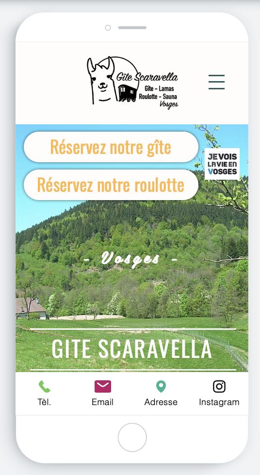 Anaïs Claude gite familial Scaravella insolite Vosges
