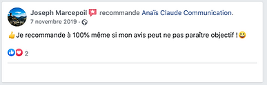 recommandations Facebook land rover, ana