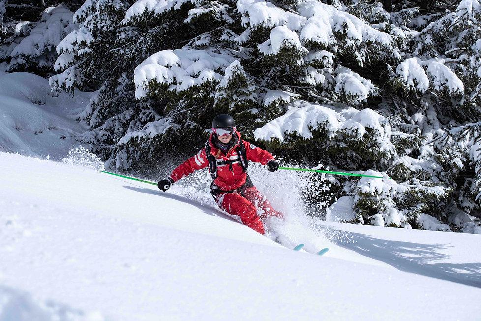 ESF Morzine cours de ski  Anais claude