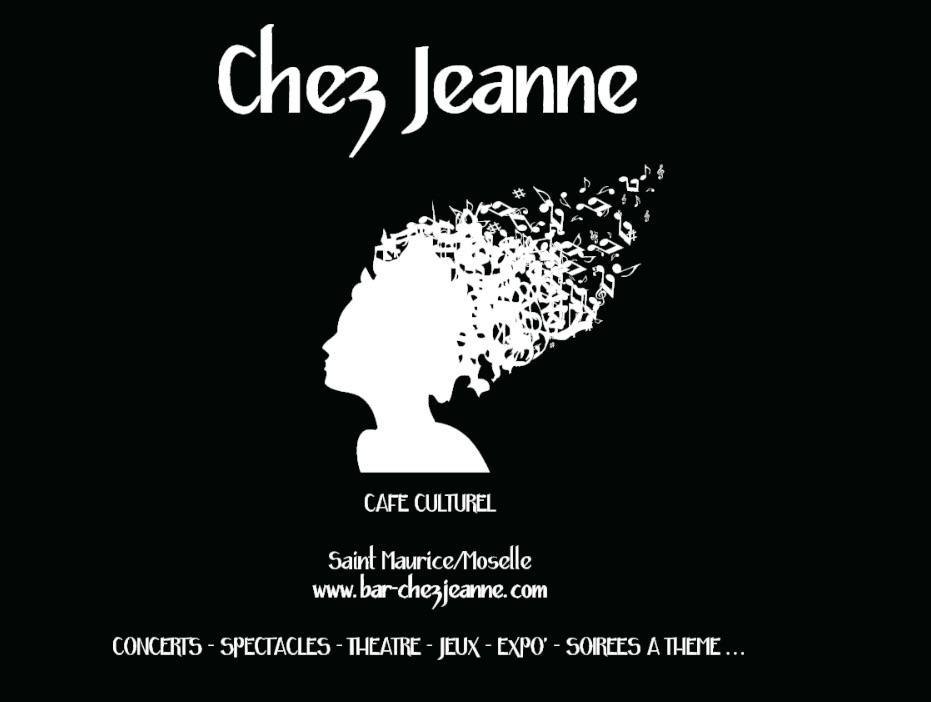 Logo bar Chez Jeanne anais claude