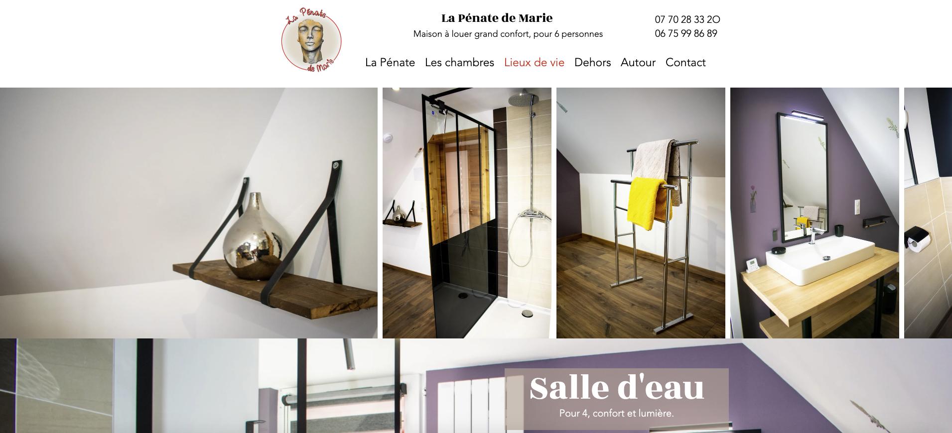La Pénate de Marie maison grand confort à louer saint Maurice sur Moselle